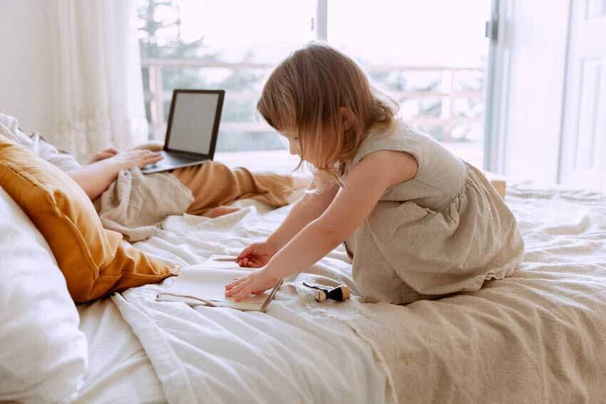 Evden Çalışmak ve Çocuklar