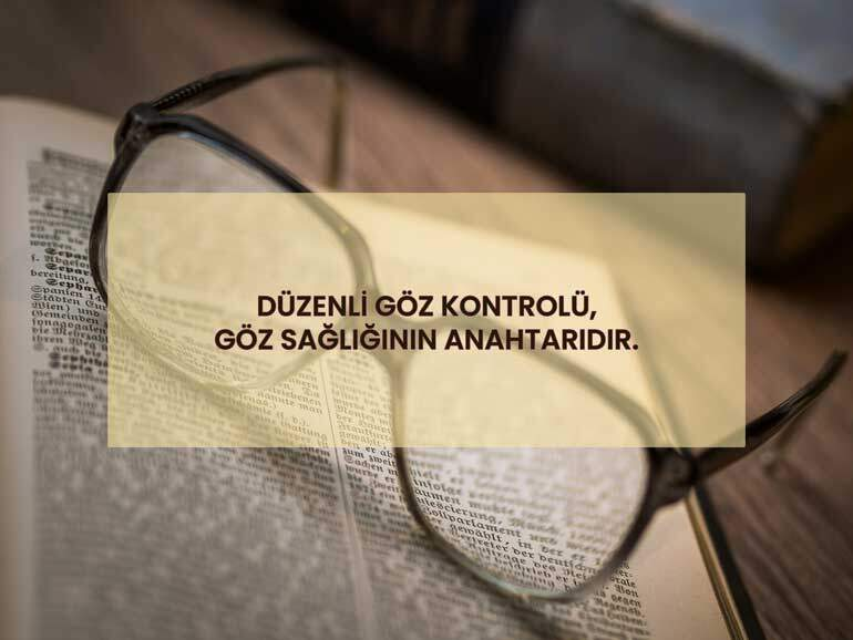 Göz Sağlığı ve Doktor Kontrolü