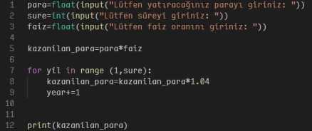 Python Kod Örneği - Python Sade Bir Dildir