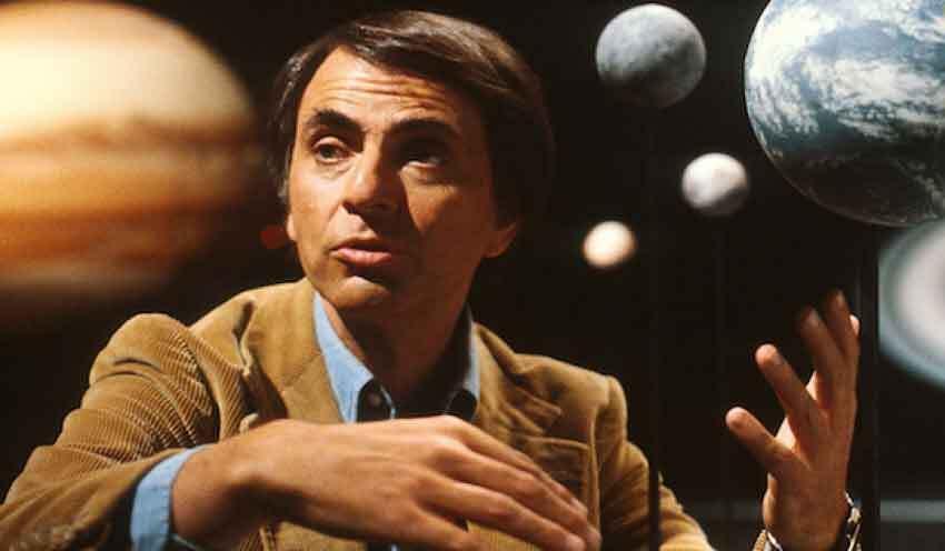 Carl Sagan Astronomi