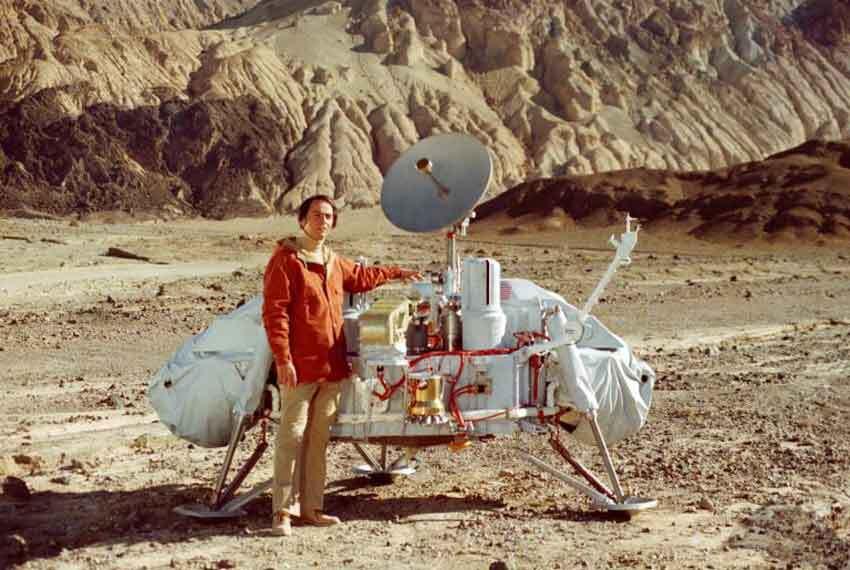 Carl Sagan Viking Uzay Aracı