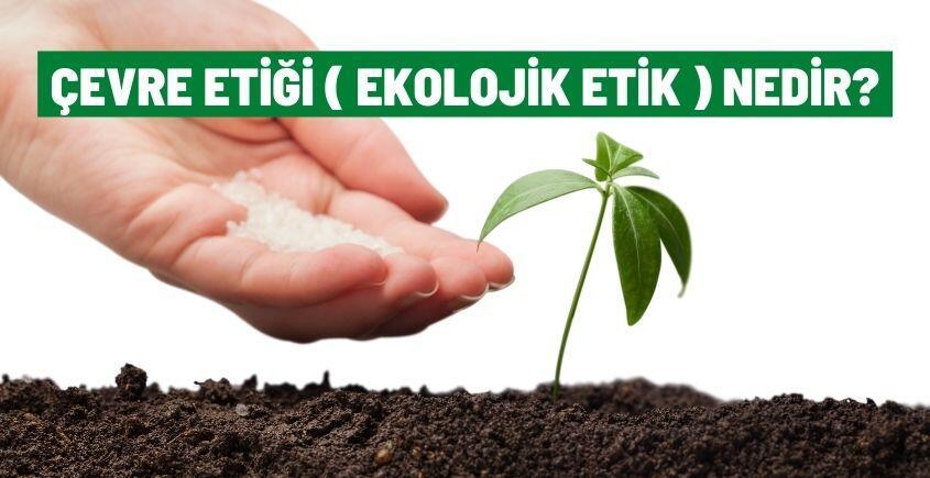 cevre etigi ekolojik etik nedir
