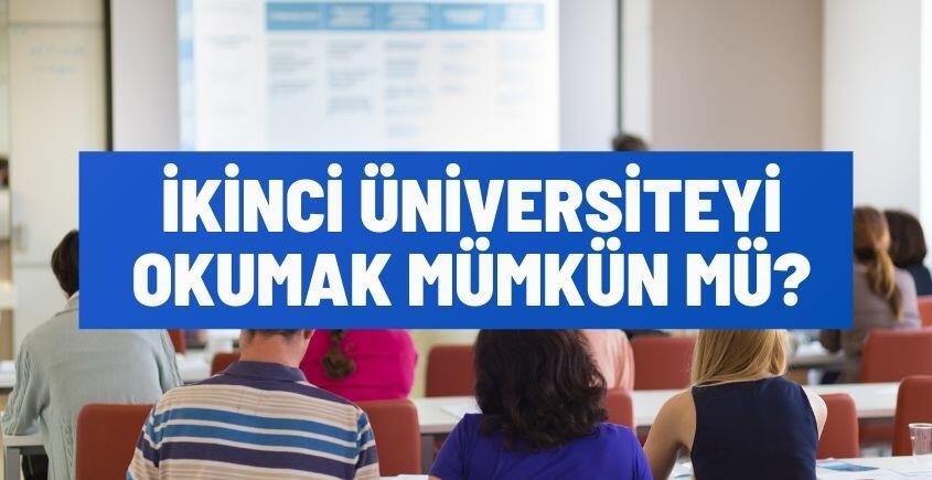 ikinci universiteyi okumak