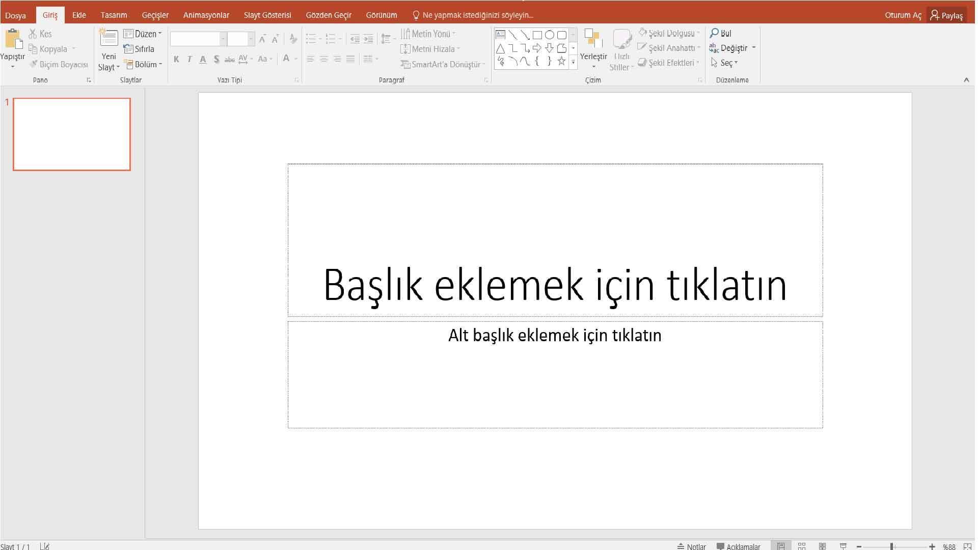 Powerpoint Sunum Hazırlama 3