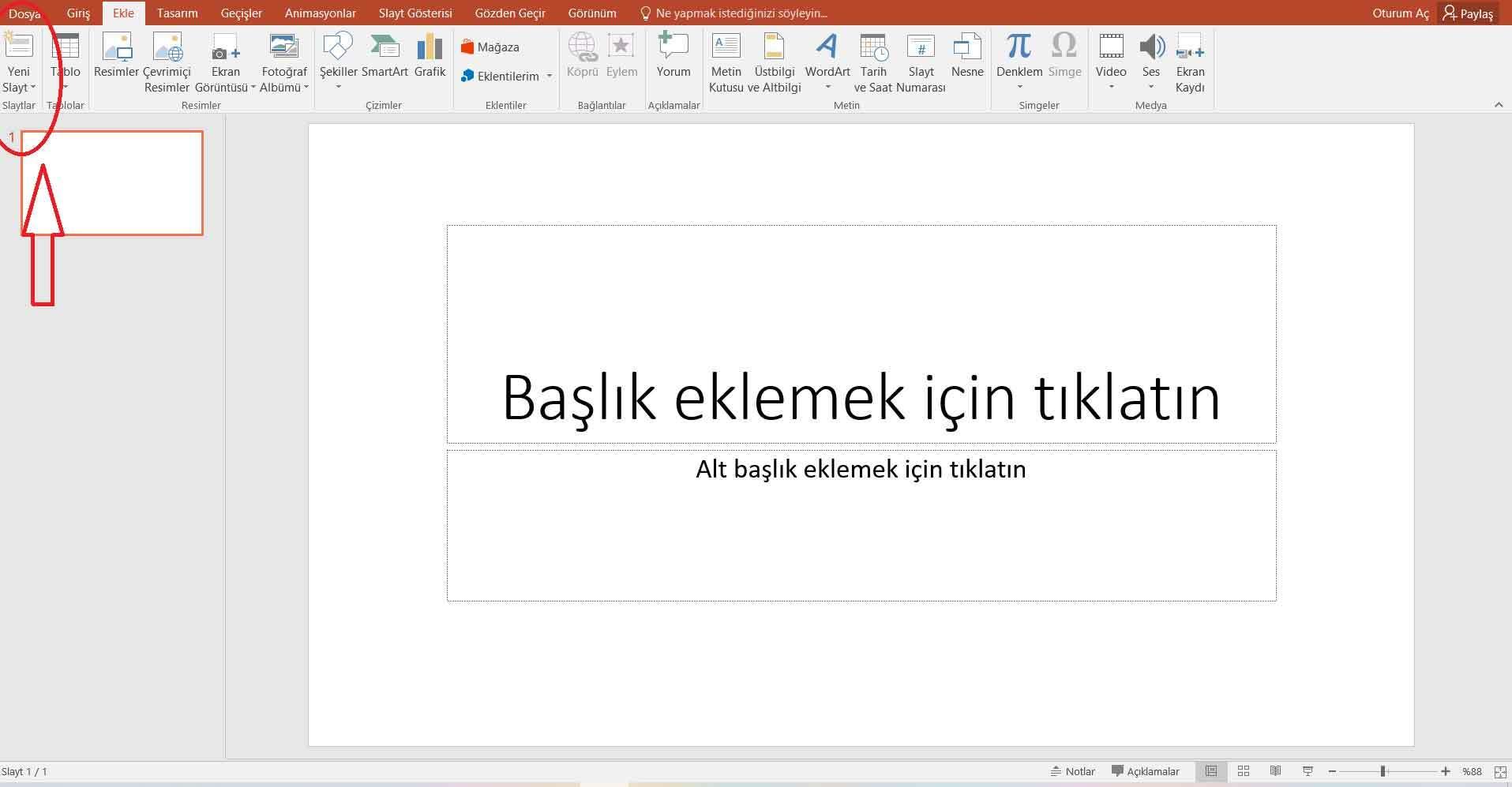 Powerpoint Sunum Hazırlama 5