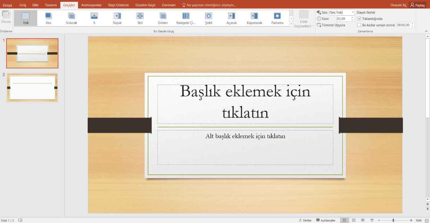 Powerpoint Sunum Hazırlama 8