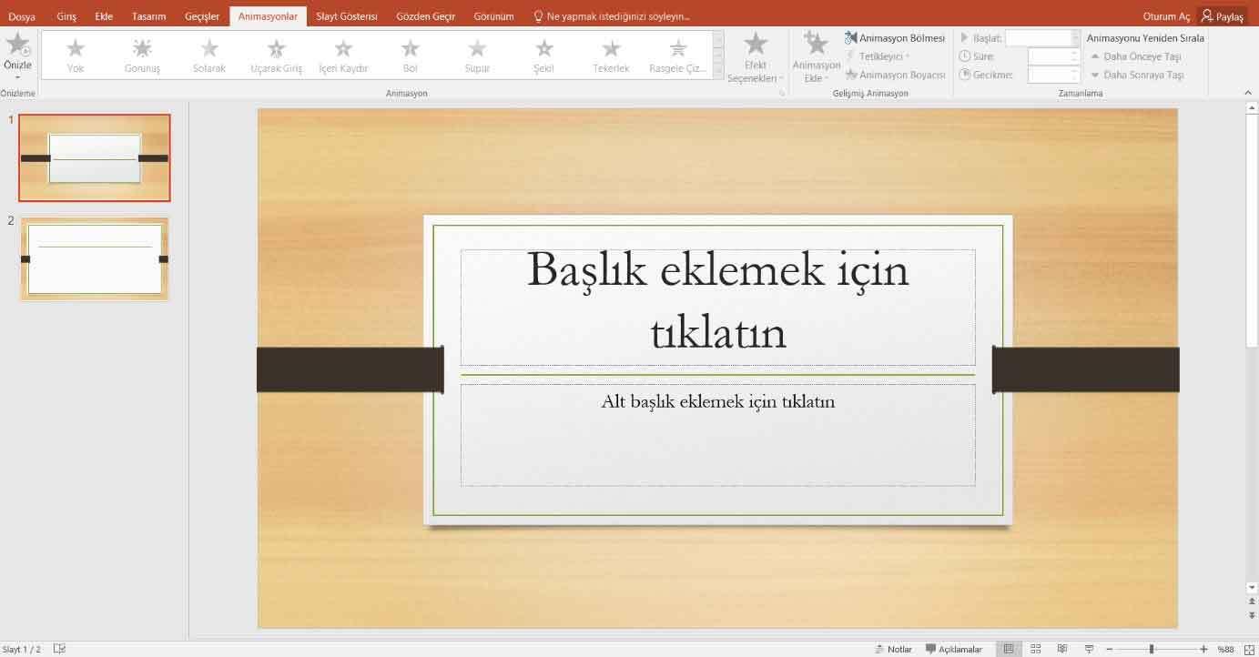 Powerpoint Sunum Hazırlama 9
