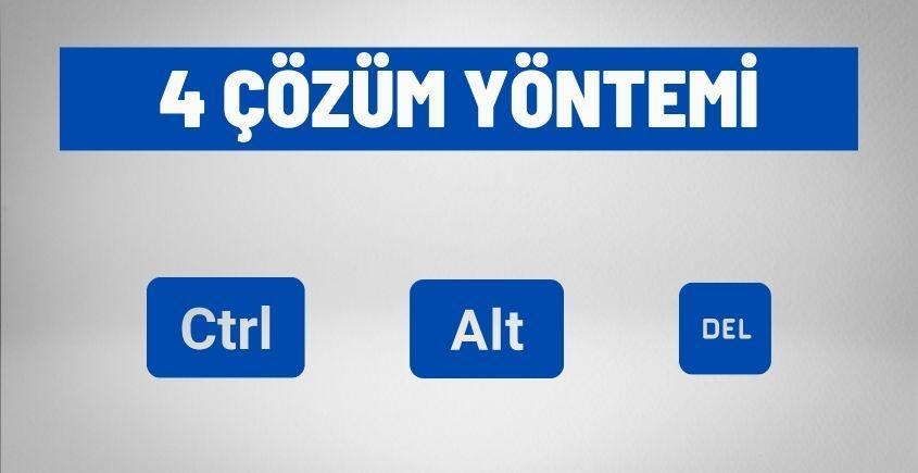 4 cozum yontemi