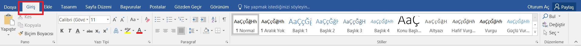 bilgisayarda uslu sayi yazma 2
