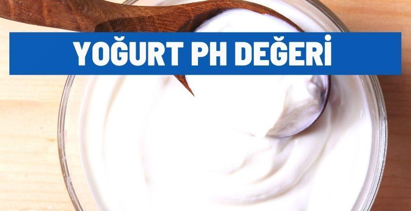 yogurt ph degeri