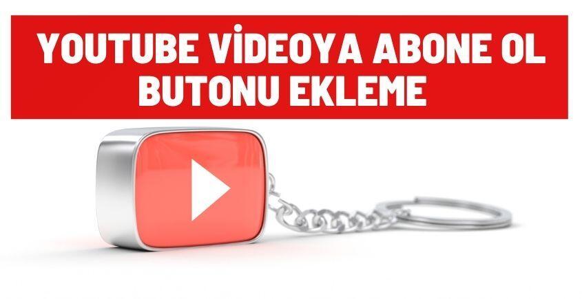 youtube videoya abone ol butonu ekle